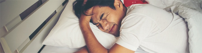 Sleep disturbances or constant fatigue